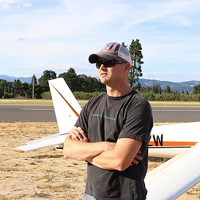 Glider Pilot Hood River Soaring